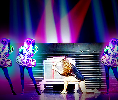 Box Illusion and LED Dancers