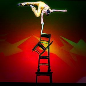 Chair Balance Acrobat