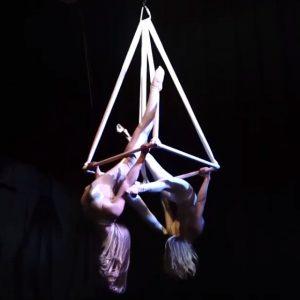 Female Duo Pyramid Act