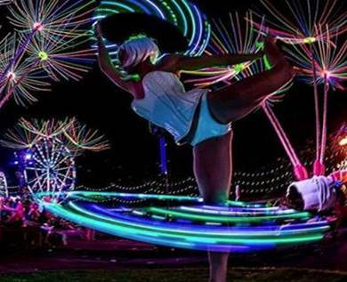 LED Hula Hoop Dancer