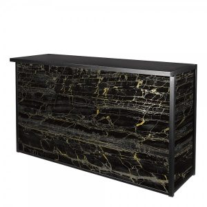 Black-Gold Marble Maxim Bar