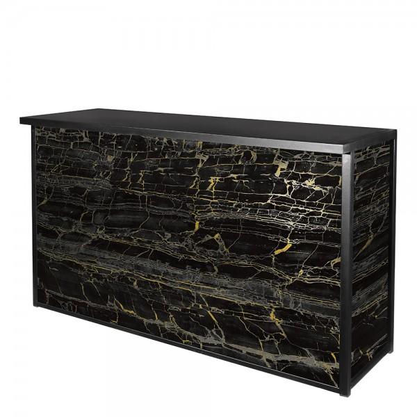 Black-Gold Marble Maxim Bar