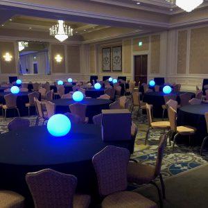 """Lighted LED Sphere 12"""""""