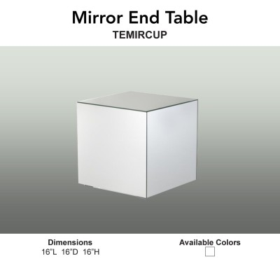 21 Tables - Mirror End Table Main
