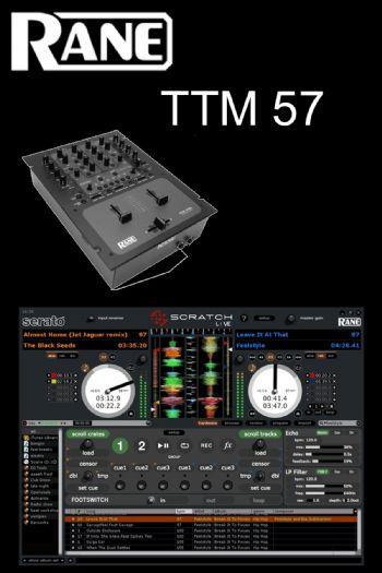 rane ttm 57l 2 channel dj mixer 24 seven productions. Black Bedroom Furniture Sets. Home Design Ideas