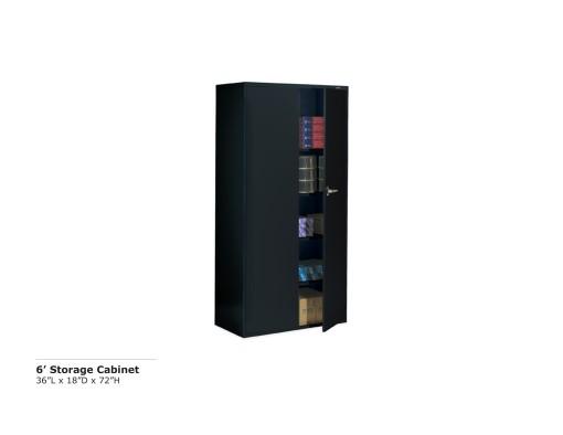 6 ft Storage Cabinet