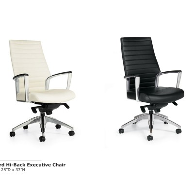 Accord Hi Back Exec Chair (BW)