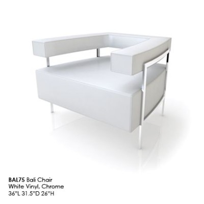 BAL75 Bali Chair white