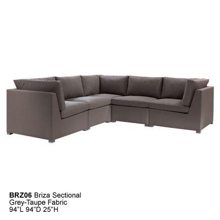 BRZ06 Briza Sectional