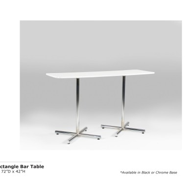 Bar Table 6ft Rectangle