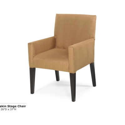 Buckskin Stage Chair