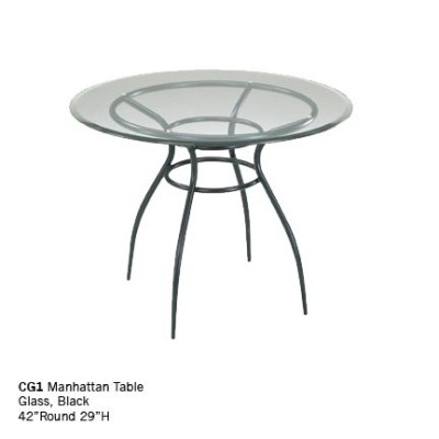 CG1 manhattan table black