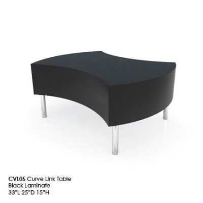 CVL05 Curve Link table black