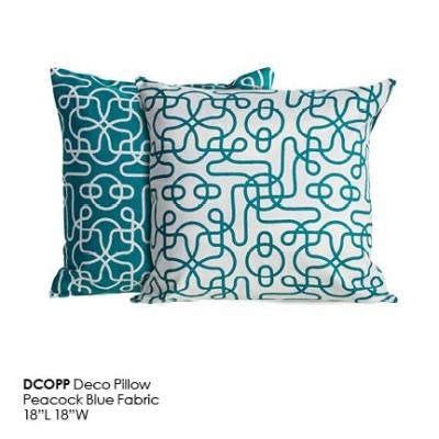 DCOPP Deco Pillow_Peacock