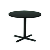 Euro Cafe Table Black Base