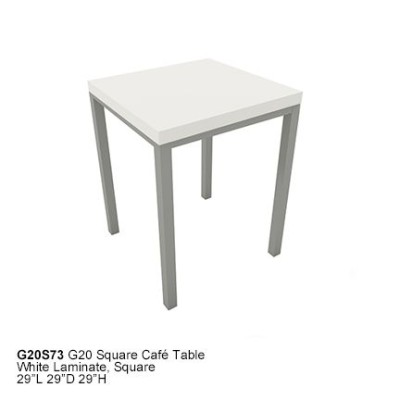 G20S73 G20 square cafe table
