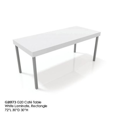 G20T73 G20 rectangle cafe table