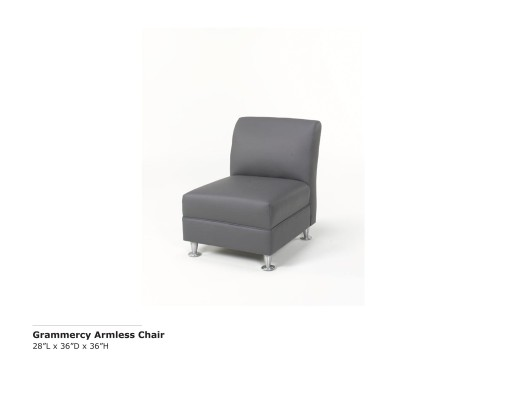 Grammercy Armless Chair