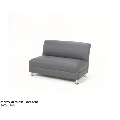 Grammercy Armless Loveseat
