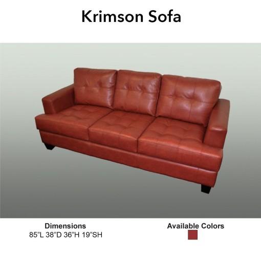 Krimson Sofa 2015-1