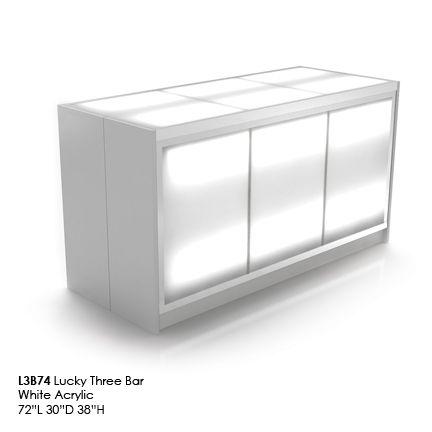 L3B74 lucky 3 bar