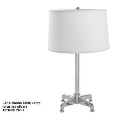 LA14 Mason table lamp