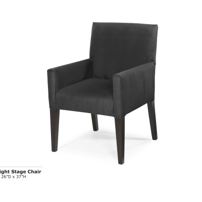 Midnight Stage Chair