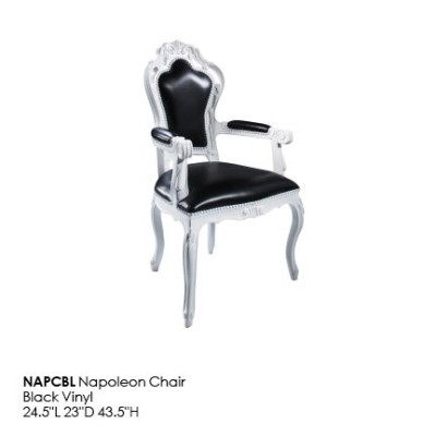 NAPCBL Napoleon Chair_Black
