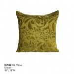 SKPGR Silk Pillow_Green_t