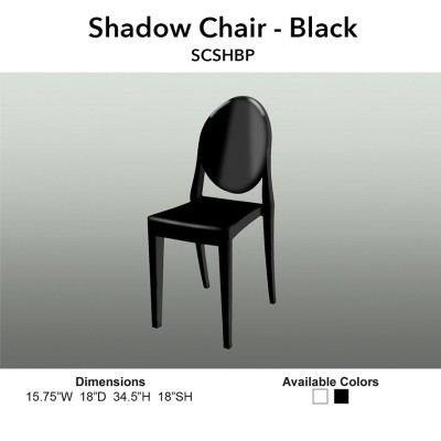 ShadowChairBlkApp