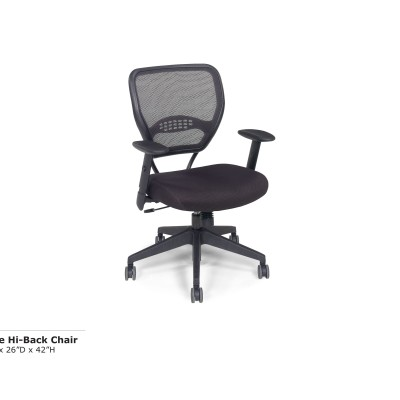 Space Hi Back Chair