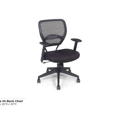 Space Hi Back Chair