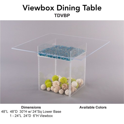 Viewbox Dining Table