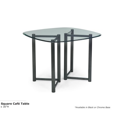 Vivid Square Cafe Table