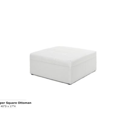 Whisper Square Ottoman