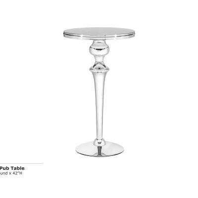 Zinc 24 inch Pub Table