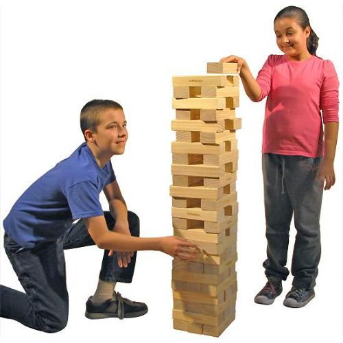 Large Jenga Game Blocks