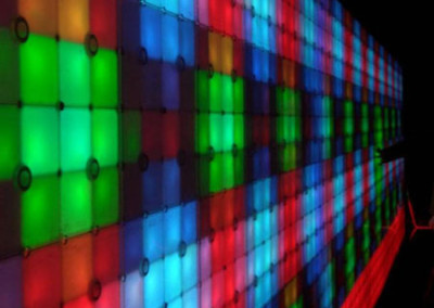 Nintendo Color Wall