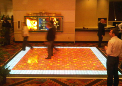MGM Grand Dance Floor